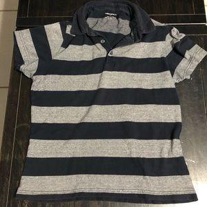 Banana Republic Men's Striped Polo Shirt Size S